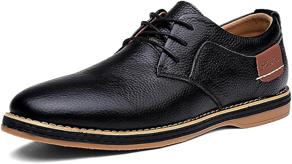 BIFINI Men's Oxford Walking Shoes Classic Modern Casual Dress Shoes