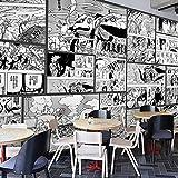 3Naruto Comic Anime Tamaño Personalizado Foto Papel Tapiz Mural Wallpaper Niños Niñas Papel Pintado Fotomurales Dormitorio Pared Arte Sala Decoración 200cmx140cm