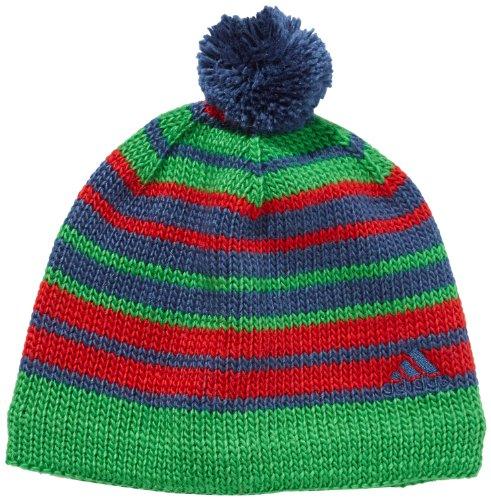 adidas Bonnet à Rayures Multicolore Sub Blue S13/light Scarlet X-Small