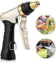 Flusso dAcqua Regolabile Pistola a Spruzzo con 8 Funzioni di irrigazione Pistola Irrigazione Pistola da innaffio Pistola Spray ad Alta Pressione Multifunzione YLX Pistola da Giardino
