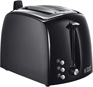 Russell Hobbs Toaster Grille-Pain Fentes Larges - Noir 22601-56 Texture