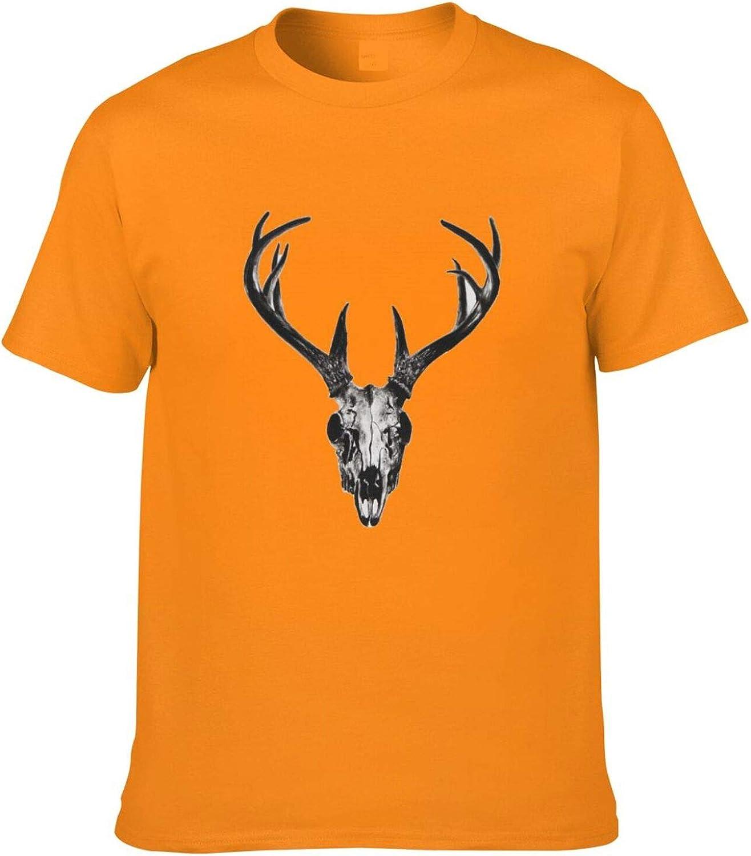 Antlers Pirate Style Antlers Deer Head T-Shir