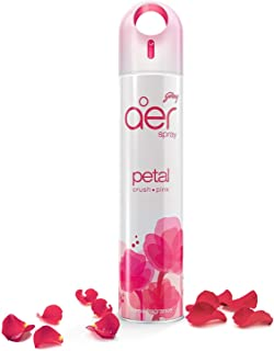 Godrej aer spray, Home & Office Air Freshener - Petal Crush Pink (300 ml)