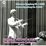 シューマン : 交響曲 第4番 | ブラームス : 交響曲 第3番 (Shumann : Symphony No.4 (1953) | Brahms : Symphony No.3 (1954) / Wilhelm Furtwangler | Berlin Philharmonic Orchestra) [CD]