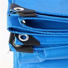 Blauw Geteerd zeildoek Grondblad Covers voor Camping, Vissen, Tuinieren, Dikte 0.6mm Pool Cover Tarpaulin FENGMING-yb (Kle...