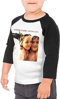 BowersJ The Smashing Pumpkins Siamese Dream Kids 3/4 Sleeve Raglan Baseball T Shirt for Girls & Boys Black