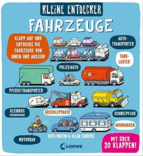 Kleine Entdecker - Fahrzeuge: Interaktives Sachbuch mit Klappen für Kinder ab 3 Jahren