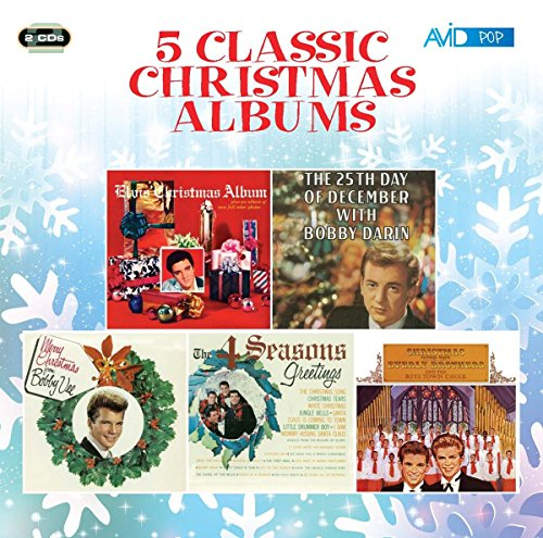 Five Classic Christmas Albums (Elvis's Christmas Album / The 25th Day Of December / Merry Christmas From Bobby Vee / The Four Seasons Greetings / Christmas With The Everly Brothers)