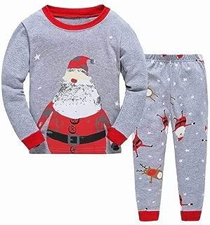 Bambini Bambine Natale Mickey Pigiami Set Pigiami Completo 2-8 Anni