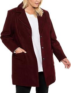 Ulla Popken Onlqueen L/S Glitter Twist Dress JRS Blouse Femme