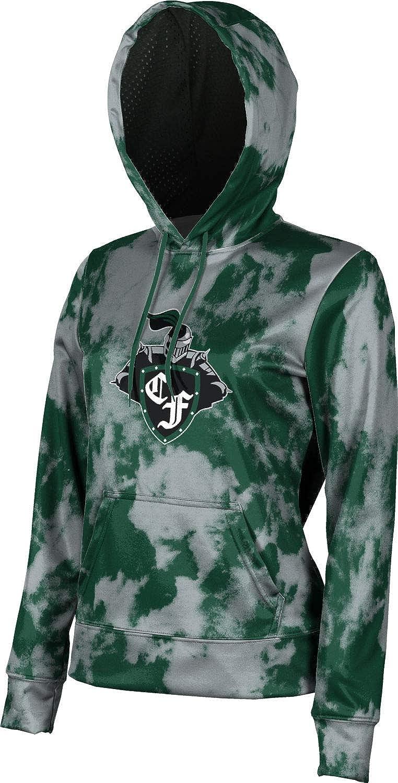 ProSphere Clear Falls High School Girls' Pullover Hoodie, School Spirit Sweatshirt (Grunge)