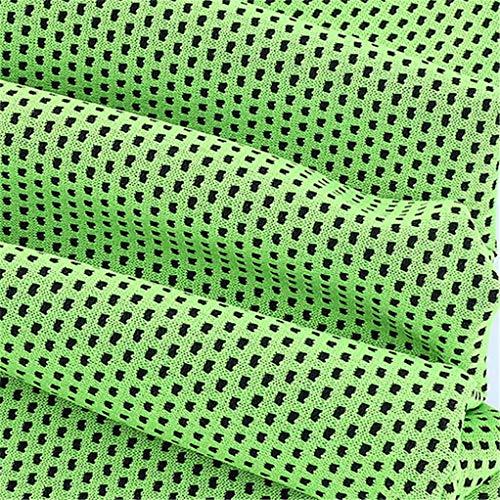 SEVENHOPE Absorbieren Schweiß Kühlung Instant Kühlung Eiskalt Wenn Nass Cool Bowling Fitness Yoga Reisen Camping Outdoor Sports Handtuch (grün)