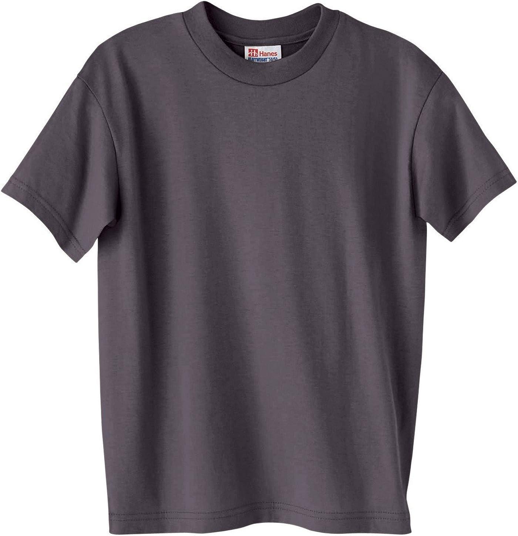 Hanes - EcoSmart Youth Short Sleeve T-Shirt - 5370