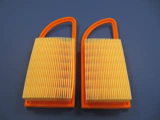 New Pack of 2 Air Filter fit for Stihl BR500 BR550 BR600 4282 141 0300 4282 141 0300B Backpack Blowers