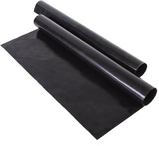 Mannily 2pcs Noir antiadhésif four Sacs réutilisables au four Lot Sacs lavable résistant à la chaleur four Tapis de cuiss...