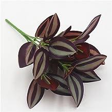 5 stks Kunstbloemen nep Plastic Blad Garland Gebladerte Groene Plant voor Thuis Tuin Bruiloft Decoraties Plante Artificiel...