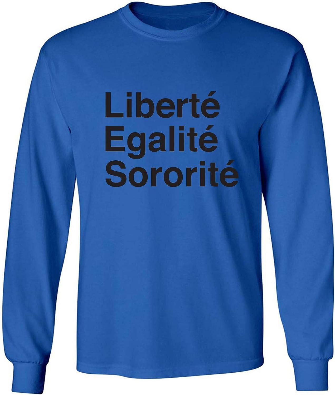 zerogravitee Liberte Egalite Sororite Adult Long Sleeve T-Shirt
