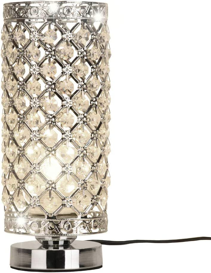Special sale item Crystal Silver Gorgeous Table … Lamp