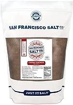 Cherrywood Smoked Sea Salt - 2 lb. Bag Fine Grain by San Francisco Salt Company