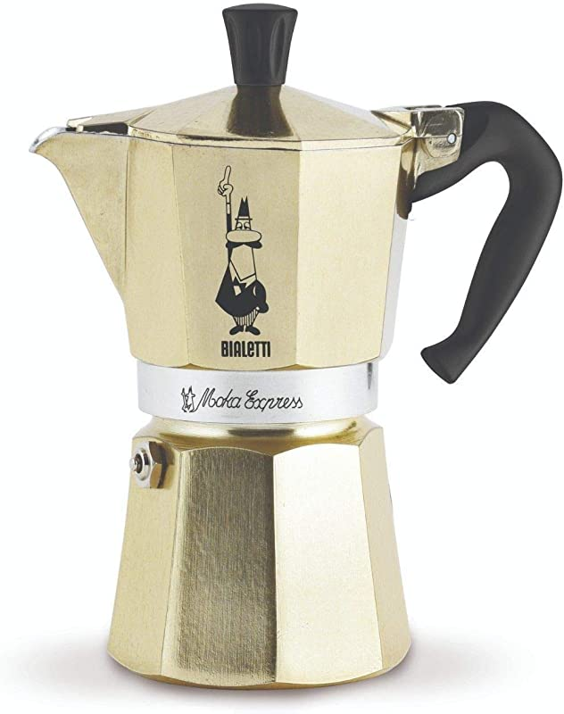 Bialetti Coffee Maker Gold 6 Cup