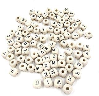 TOAOB 900 St/ück Bunt Buchstabenperlen Spacer Perlen W/ürfel 6x6mm Liebe Herz Ausdruck und Kreuz Getrennte Montage Acryl Gr/ö/ße der L/öchern 3mm