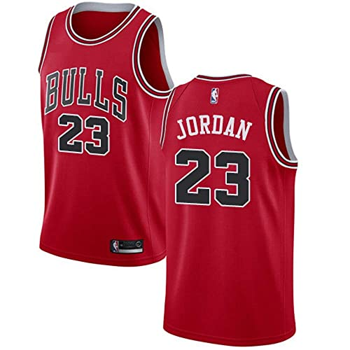 13801bb569f Men's Chicago Bulls #23 Michael Jordan Swingman Jersey