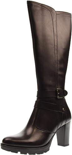 Vallevert Vallevert Bottes Chaussures Femme 46501 Noir  qualité garantie