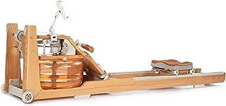 Vattenroddmaskin med äkta ek och justerbar vattenbeständighet, vattenroddmaskin, roddträningsutrustning för hemma, använda...