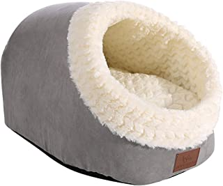Miss Meow Cat Bed Round and Cave Shape Self Warming Bed