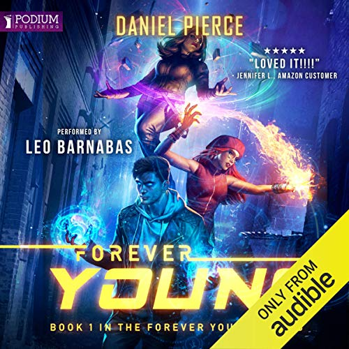 Forever Young audiobook cover art