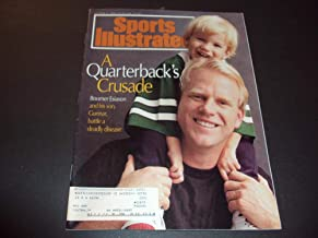Sports Illustrated Oct 4 1993 Boomer Esiason and His Son Battle Disease