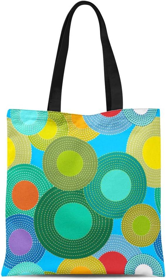 Block Printed Canvas Tote Bag \u2014 Constellation Warm Retro  Slim Basic Small Cotton Tote  Handmade /& Handprinted