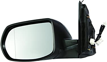 New Replacement Driver Side Mirror Heated Glass W Backing Compatible With Honda CR-V 2012-2016 Honda HR-V 2016-2019 Sold By Rugged TUFF