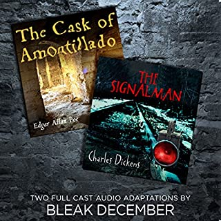 The Signalman and The Cask of Amontillado audiobook cover art