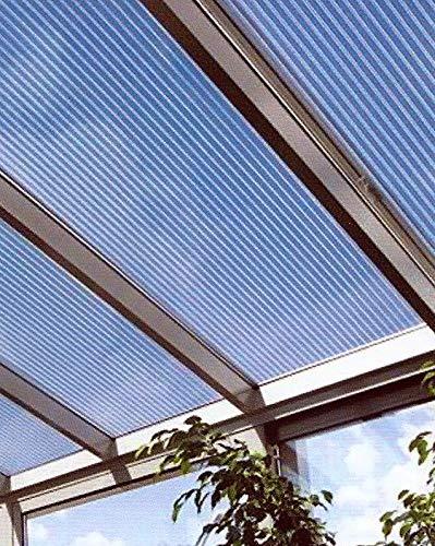Acryl Doppelstegplatten 16 mm - opal - Zweifachsteg - Länge: 3000 mm - Breite: 980 mm (Euro 42,60/qm)