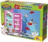 Lisciani Giochi 52851 - Puzzle DF Supermaxi Oggy e i Maledetti Scarafaggi, 150 Pezzi, Multicolore