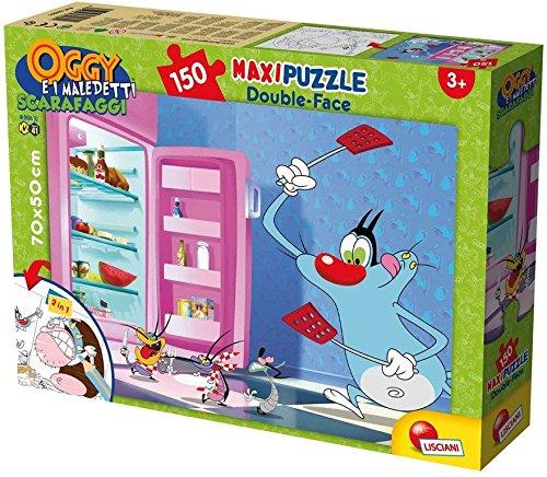 Lisciani Spiele 52851–Puzzle DF Supermaxi Motiv Oggy und die Kakerlaken, 150Stück, Mehrfarbig