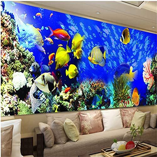 SWECOMZE DIY 5D Diamant Malerei Fisch Ozean, Kristall Strass Stickerei Bilder DIY Diamond Painting für Home Wand-Decor (150 * 52cm)