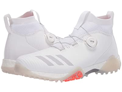 adidas Golf Codechaos BOA (Footwear White/Orbit Grey/Crystal White) Men