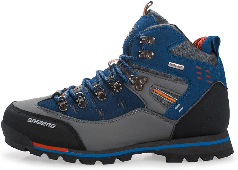 SANANG Waterproof Leather Outdoor Hiking shoes Autumn Winter Mens Sport Trekking Mountain Climbing Boots