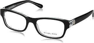 Michael Kors RAVENNA MK8001 Eyeglass Frames 3001-53 - Black/Blue MK8001-3001-53