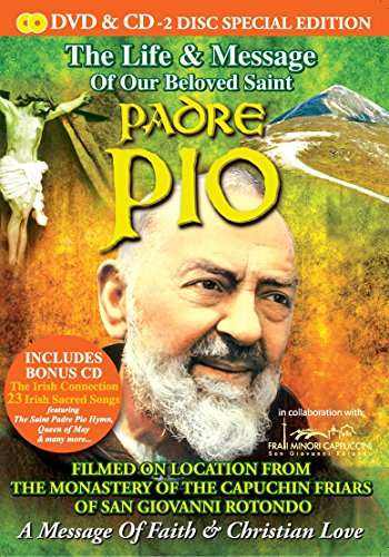 The Life and Message of Our Beloved Saint Padre Pio (DVD/CD Set) Approved By The Vatican