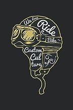 We Love Ride Bike Notebook: Wide Ruled Paper Notebook Journal For Geek Sport Cool Lined Workbook for Students Undergraduat...