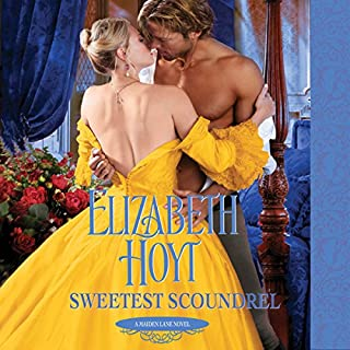 Sweetest Scoundrel audiobook cover art