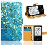 FoneExpert Nokia Lumia 530 Housse Coque, Etui Housse Coque en Cuir Portefeuille Wallet Case Cover pour Nokia Lumia 530