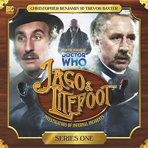 Jago & Litefoot Series 1                   By:                                                                                                                                 Alan Barnes,                                                                                        Jonathan Morris,                                                                                        Andy Lane,                   and others                          Narrated by:                                                                                                                                 Christopher Benjamin,                                                                                        Trevor Baxter,                                                                                        Conrad Asquith,                   and others                 Length: 5 hrs and 11 mins     41 ratings     Overall 4.5