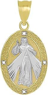 Best divine mercy gold pendant Reviews