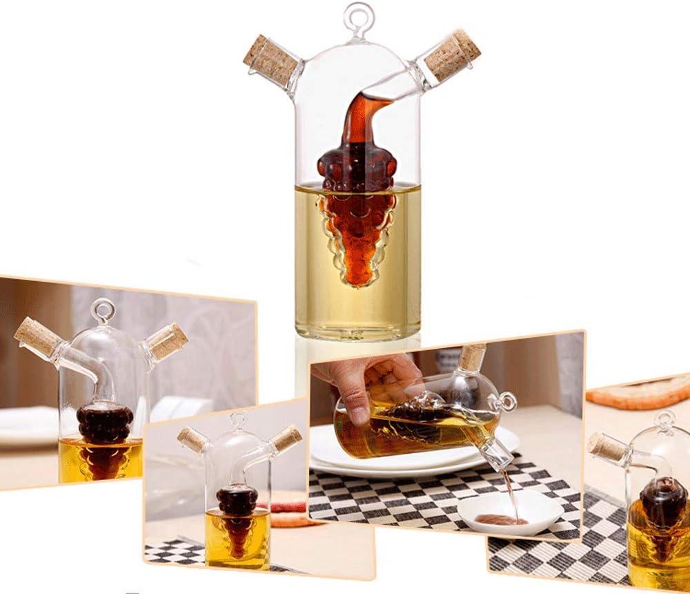 Popular SRUI 2 in 1 cheap Oil Olive Glass Cru Dispenser Vinegar