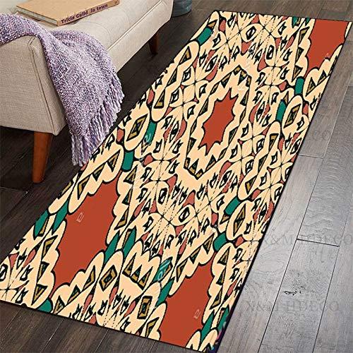 HLXX Corridor carpet living room balcony bathroom non-slip mat non-slip entrance carpet A7 40x60cm