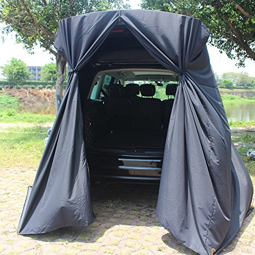 SUV Tailgate Shelter Tent Privacy Shelter Waterproof & Lightweight Blue Black Portable Changing Room...